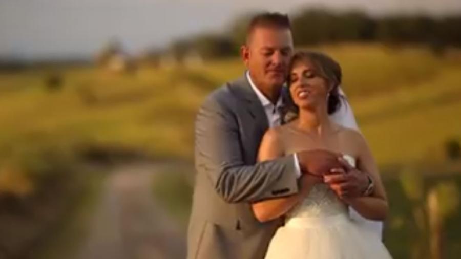 O casamento de Stephanie Agnew e Rob Campbell - Reprodução/Facebook