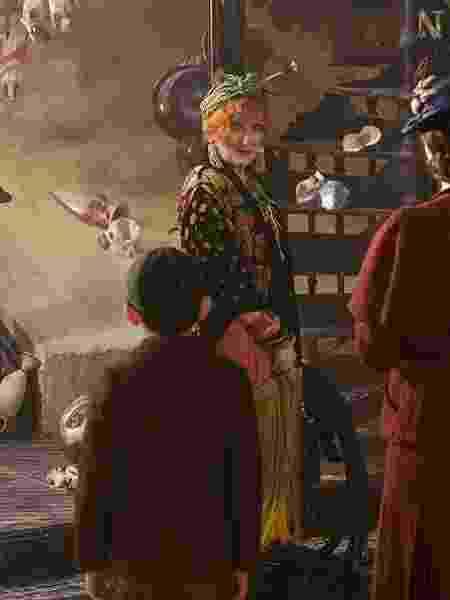 """Meryl Streep como Topsy em """"O Retorno de Mary Poppins"""" - Divulgação/IMDb"""