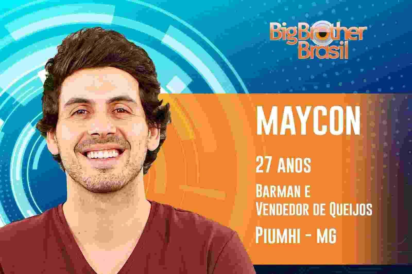 Maycon é o décimo segundo participante do ?BBB19? - Reprodução/TvGlobo