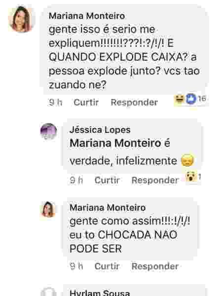 Mariana 1 - Reprodução/Facebook - Reprodução/Facebook
