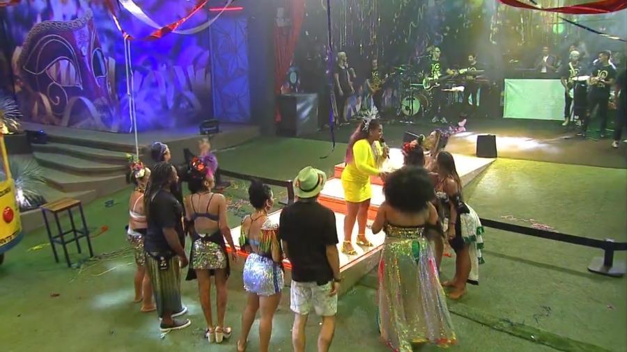 Preta Gil faz show especial para brothers - Reprodução/GloboPlay