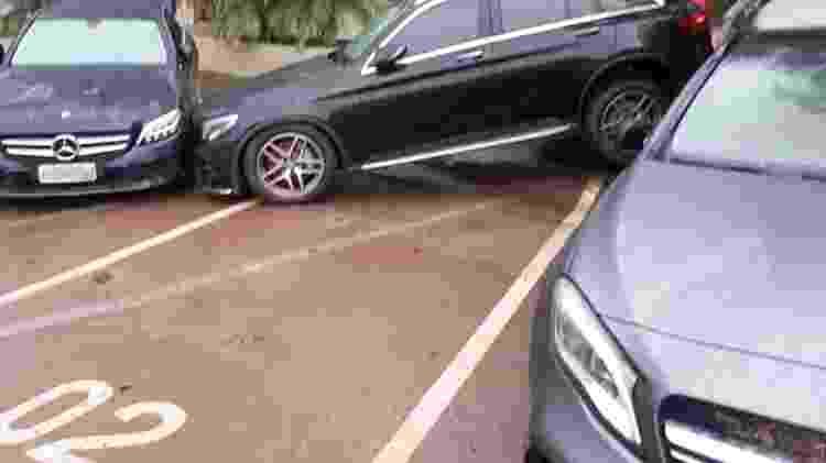Mercedes-Benz SBC estrago chuva - Reprodução - Reprodução
