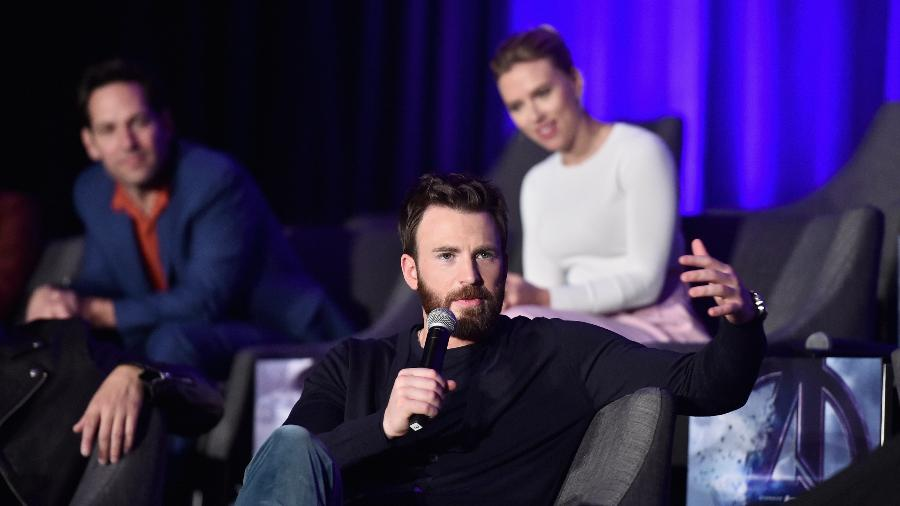 Chris Evans em evento realizado em Los Angeles - Alberto E. Rodriguez/Getty Images for Disney