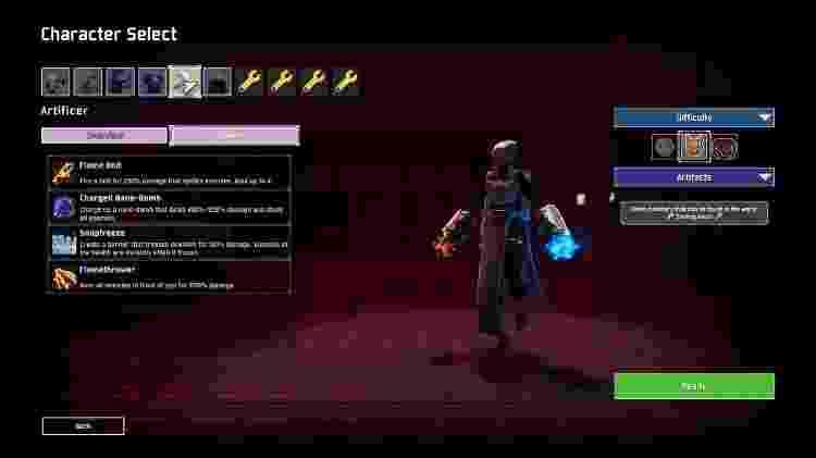 O Artificer tem ótimas habilidades que geram dano em área e zoneiam os inimigos - Reprodução