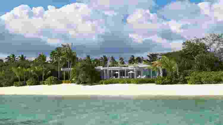 Diárias do Banwa Private Island, nas Filipinas, custam a partir de US$ 100 mil - Divulgação/Banwa Private Island