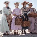 Emma Watson, Florence Pugh, Saoirse Ronan e Eliza Scanlen como as irmãs March em Little Women - Divulgação/Vanity Fair