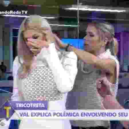 Val Marchiori abandona o programa Tricotando, da RedeTV! - Reprodução/RedeTV!