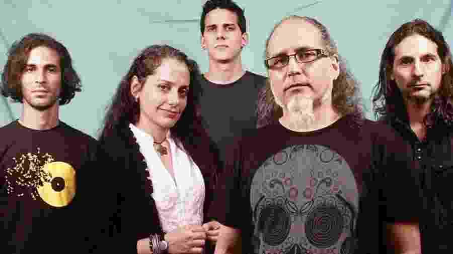 Os integrantes da banda Anima Mundi - Divulgação