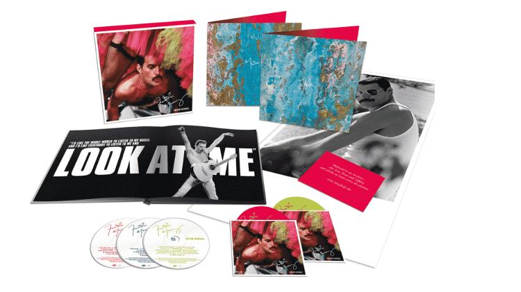 Box especial Never Boring, com trabalhos da carreira solo de Freddie Mercury - Reprodução