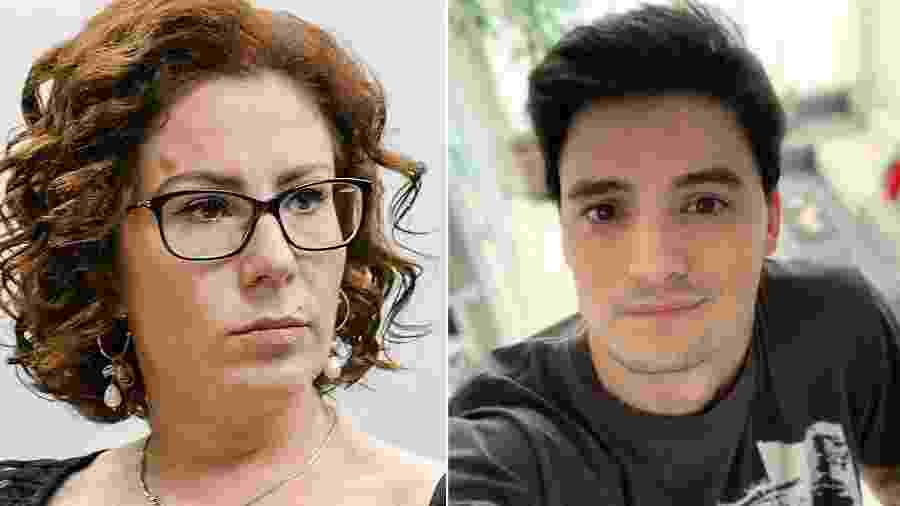 A deputada federal Carla Zambelli (PSL) e Felipe Neto - Reprodução/Instagram