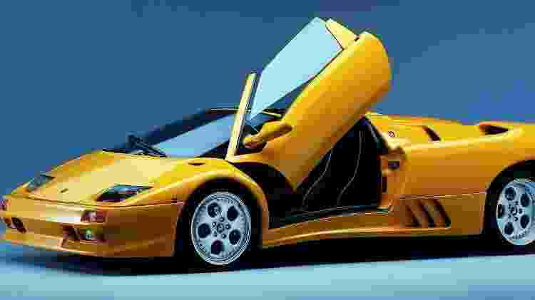 Lamborghini Diablo Roadster - Divulgação - Divulgação