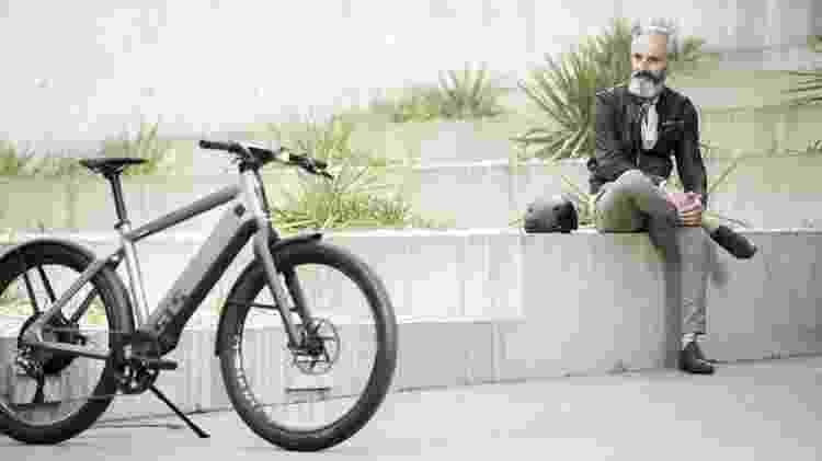 Stromer ST5 traz GPS, Bluetooth e 3G; bike pode ser monitorada e travada por meio de aplicativo - Divulgação