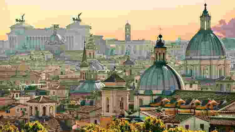 Lazio é a região da Itália onde fica a cidade de Roma - Getty Images/iStockphoto
