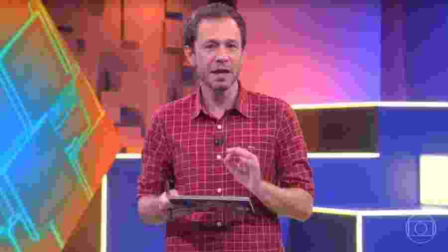 BBB 20: Tiago Leifert apresenta o BBB 20 desta quinta - Reprodução/Globoplay