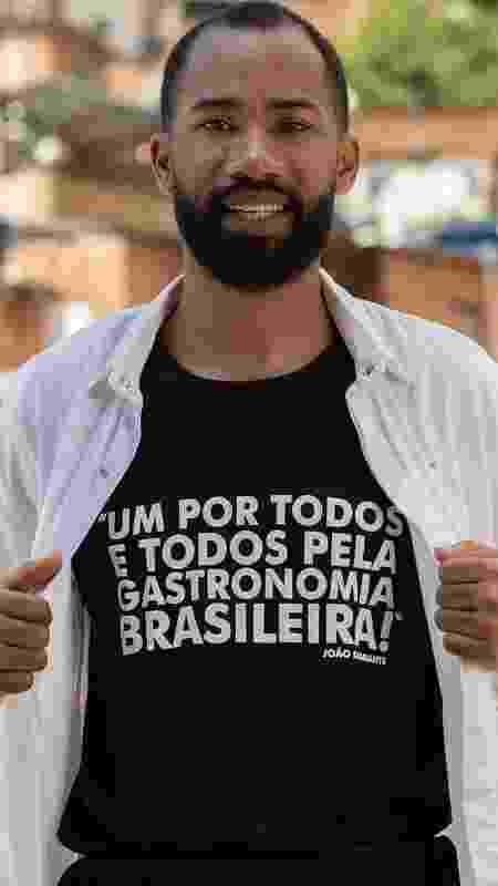 João Diamante decidiu abrir mão de uma oportunidade na França para apostar na gastronomia brasileira - Facebook/diamantesnacozinha - Facebook/diamantesnacozinha
