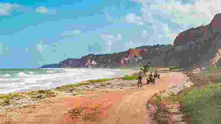 Praia do Gunga, em Roteiro, cidade a 31 quilômetros de Maceió - Kaio Fragoso/Sedetur – Alagoas