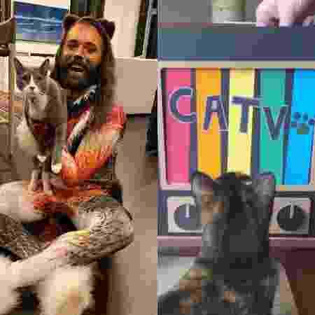 Jonathan Van Ness, de Queer Eye, e a sua CATV - REPRODUÇÃO/INSTAGRAM