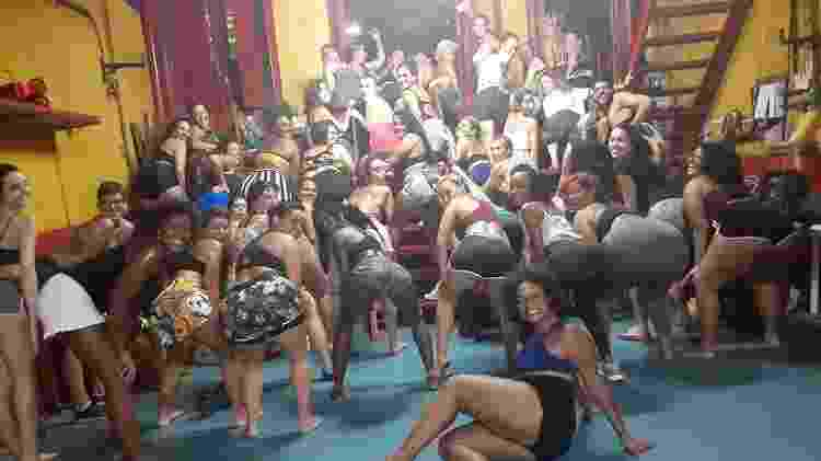Aula de afrofunk na Lapa, no Rio de Janeiro - Divulgação - Divulgação