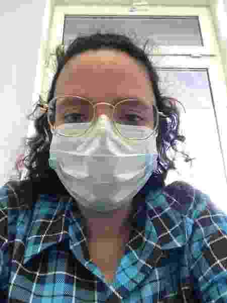 Gabriela Daher ficou 11 dias em isolamento obrigatório em um hospital ao chegar na cidade - Arquivo pessoal