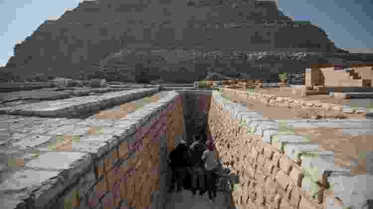 Pirâmide no Egito - Oliver Weiken/picture alliance via Getty Images - Oliver Weiken/picture alliance via Getty Images