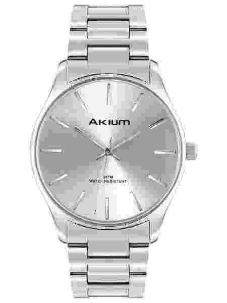 Relógio Akium Masculino Aço - TMG7138A (1) - Divulgação - Divulgação