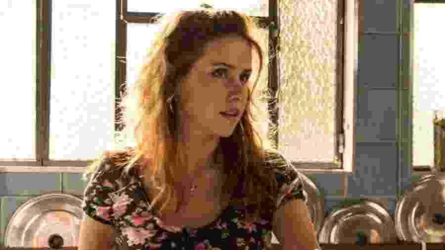 """Leona Cavalli como Gilda em cena de """"Totalmente Demais"""" - Reprodução/TV Globo"""