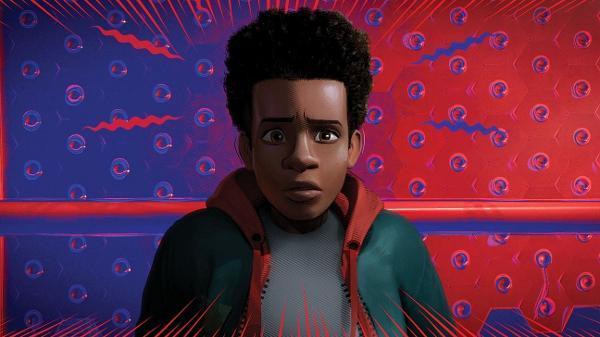 """Miles Morales em """"Homem-Aranha no Aranhaverso"""""""