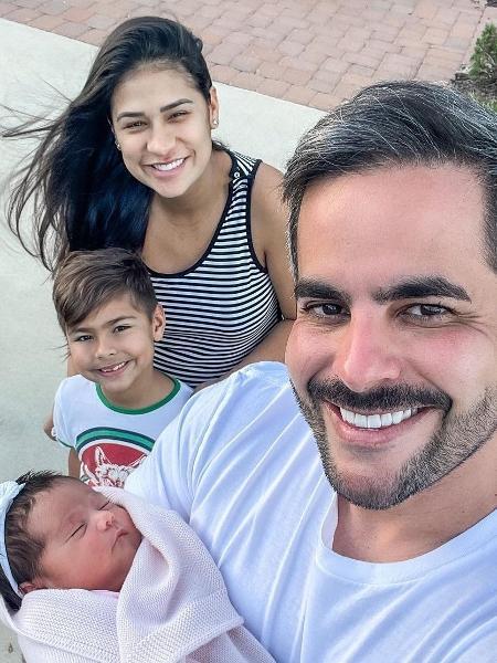 Zaya, Henry, Simone Mendes e Kaká Diniz - Reprodução/Instagram @kakadiniz1