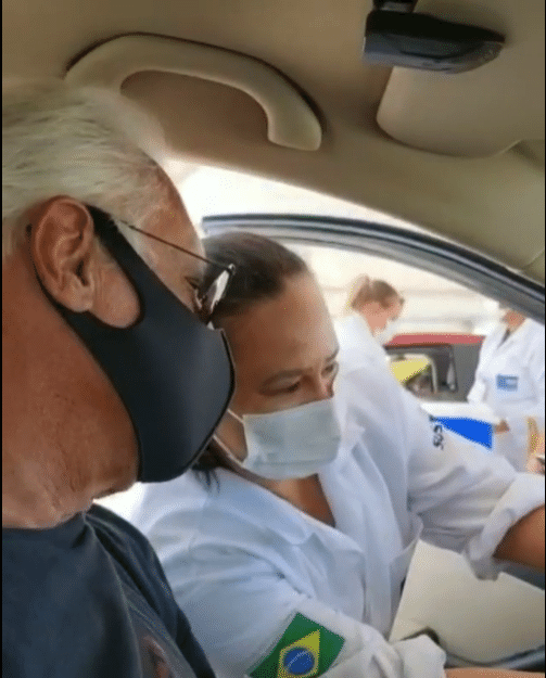 Antonio Fagundes foi vacinado - Reprodução/Instagram
