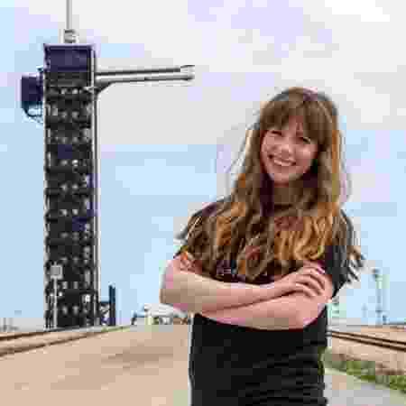 Hayley Arceneaux - SpaceX/Divulgação - SpaceX/Divulgação