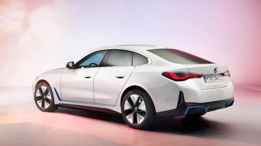 BMW i4 2022 - Divulgação