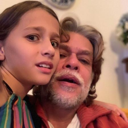 Fabio Assunção e a filha, Ella Felipa - Reprodução/Instagram