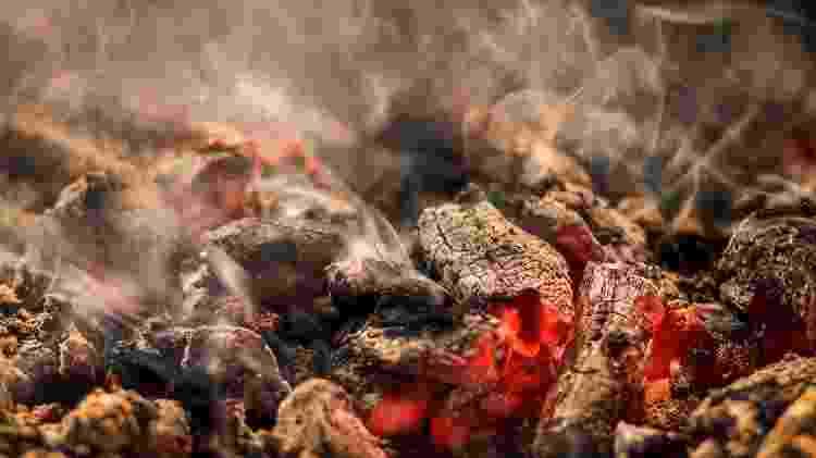 Carvão faz fumaça intensa - Amith Nag Photography/Getty Images - Amith Nag Photography/Getty Images