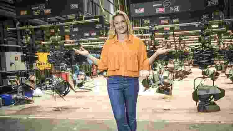Fernanda Gentil se prepara para 'Zig Zag Arena', na TV Globo - Globo /João Miguel Júnior - Globo /João Miguel Júnior