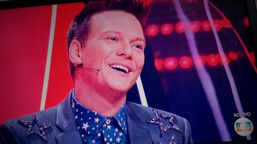 "Michel Teló solta palavrão em ""The Voice Kids"" - Reprodução/Twitter"