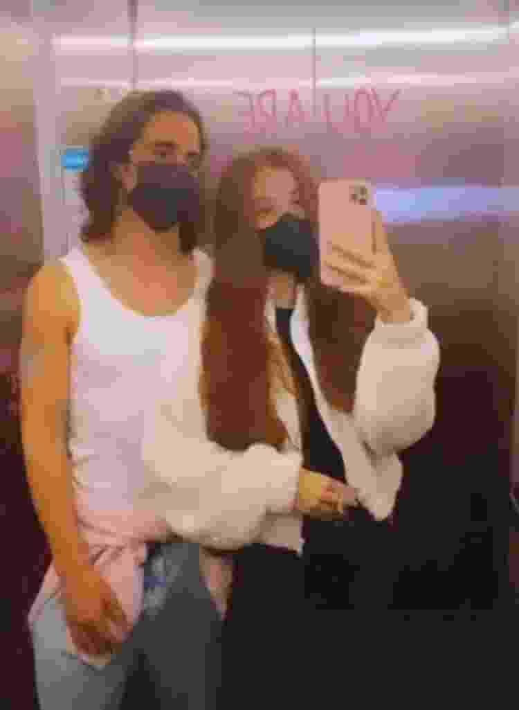Fiuk e a namorada, Thaisa Carvalho - Reprodução/Instagram - Reprodução/Instagram