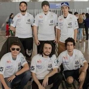 Time do Santos Dexterity em sua primeira participação internacional - Divulgação