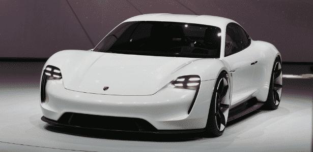Porsche Mission E Concept - Murilo Góes/UOL - Murilo Góes/UOL
