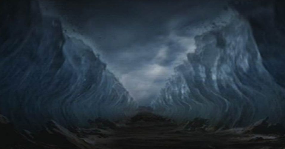 veja cenas da abertura do mar vermelho em os dez mandamentos bol