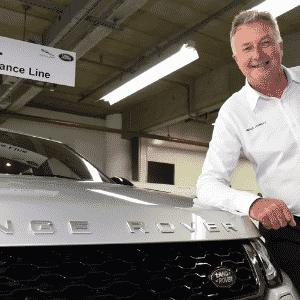 Neale Jauncey, prefeito da fábrica da Jaguar Land Rover, em Itatiaia, RJ - Murilo Góes/UOL