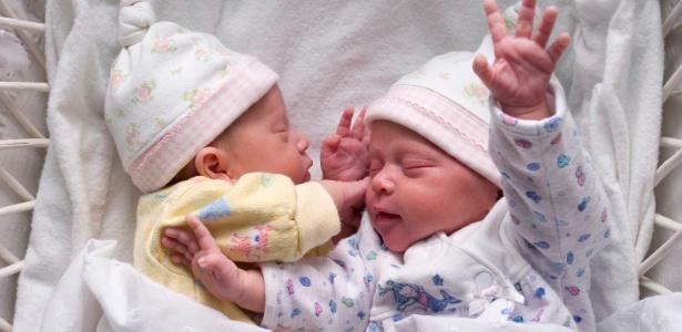 Em 40 anos, a taxa de natalidade de gêmeos dobrou nos países desenvolvidos  - Getty Images