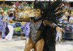 Com transparência e brilho, rainha Juliana Alves desfila na Unidos da Tijuca - Marcelo de Jesus/ UOL