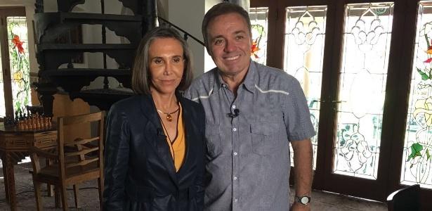 Florinda Meza disse a Gugu Liberato que Ramón Valdés tinha problemas com drogas - Divulgação/TV Record