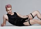 Cueca com renda está entre apostas ousadas de marca de lingerie masculina - Reprodução/Facebook