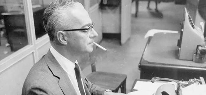 O escritor brasileiro Antônio Callado - Acervo Ana Callado