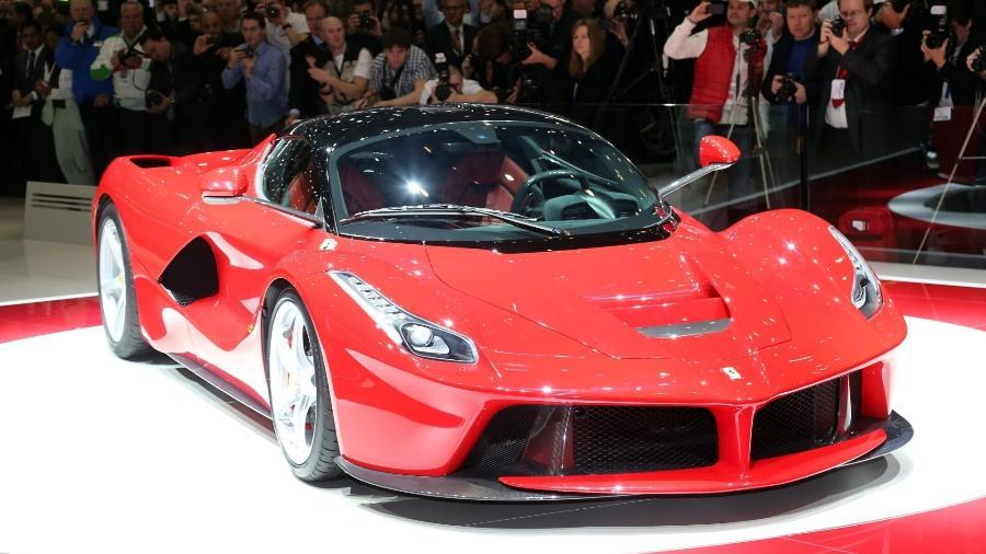 LaFerrari é o supercarro mais rápido, forte e potente de toda a história da Ferrari - Divulgação