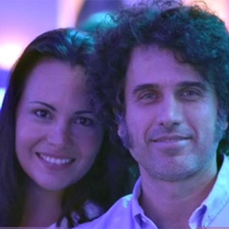 Eriberto Leão e a mulher, Andrea Leal, esperam o segundo filho - Reprodução/TV Globo