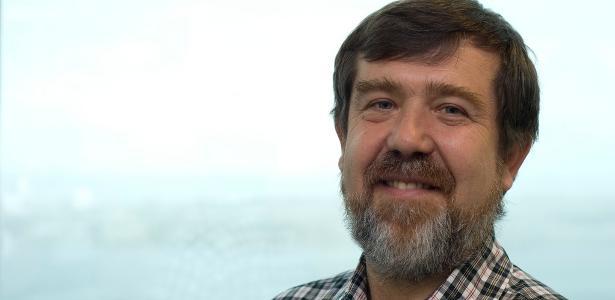 """Alexey Pajitnov, que criou o jogo de quebra-cabeças """"Tetris"""" em 1984"""