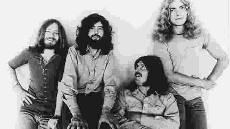 A banda Led Zeppelin - Reprodução - Reprodução
