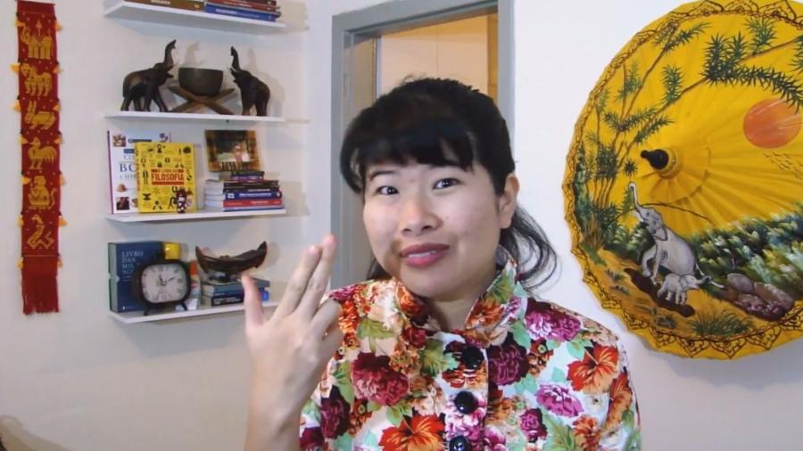 """A tailandesa Yuko, ex-""""MasterChef"""", conta sobre o primeiro assalto a mão armada que sofreu no Brasil - Reprodução/YouTube"""